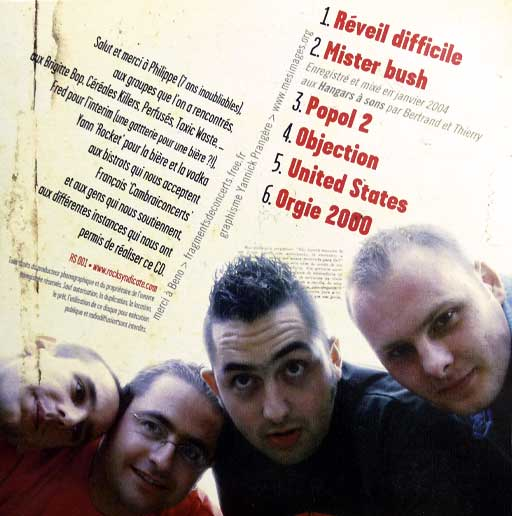 Graphisme pochette cd punk rock
